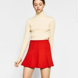 Zara | Orange/Red Skirt